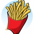 French fries - Stockvectorbeeld