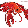 Lobster — Stock Vector