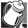Royalty-Free Stock Vector Image: Coffee pot
