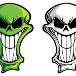 Skulls — Stock Vector