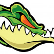 Stock Vector: Alligator
