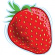 Strawberry — Vector de stock #21582241