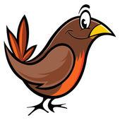 Robin bird — Stock Vector
