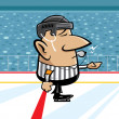 Hockey referee — Stock Vector #21594733
