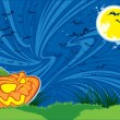Halloween night — Vector de stock #21594737
