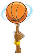 篮球 — 图库矢量图片