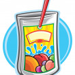 juice drink — Stock Vector
