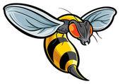 Hornet — Stock Vector