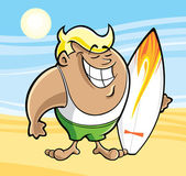Surfista — Vetorial Stock
