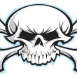 Skull and crossbones — Stockvector #22108237