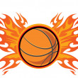 Basketball — Stock Vector #26206439