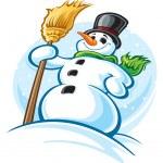 Snowman — Stock Vector #29911217