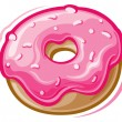 Stock Vector: Donut