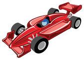 Samochód wyścigowy — Wektor stockowy
