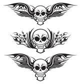 Татуировка черепа — Cтоковый вектор