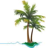 Tropics003 — Stock Vector