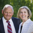 Stock Photo: Formal Senior Couple Portrait
