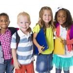 Elementary School Kids Group — Stock Photo #40427975