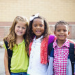 Diverse Children Going to Elementary school — Stock Photo #40430935