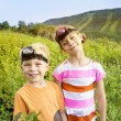 Stock Photo: Kids Enjoying Summer Adventure