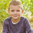 Handsome Young Boy Portrait — Stock Photo