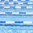 Swimming Pool Lanes — Stock Photo