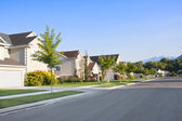 Clean, Idyllic, Peaceful Neighborhood — Stock Photo