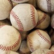 Stock Photo: Lots and lots of baseballs background