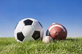 Sportovní míče — Stock fotografie