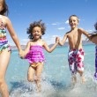 Children at the Beach — Stock Photo