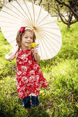 Menina bonitinha — Foto Stock