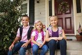 Children Ready For School — Stock Photo