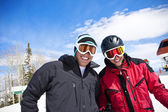 Ski Buddies — Stock Photo
