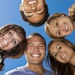 Stock Photo: Multi-racial Young Adults