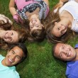 Young friends Having Fun — Stock Photo #41220785