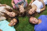 Young friends Having Fun — Stock Photo