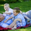 Father and sons — Stock Photo #41242905