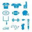 Football Icons Collection — Stock Vector #41241497