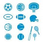 Sports Equipment — Stock Vector #41241683