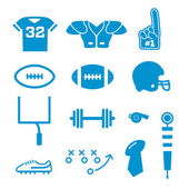 Football Icons Collection — Stock Vector