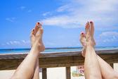 Mulheres em férias — Fotografia Stock