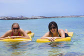 Women on a Fun Vacation — Stock Photo