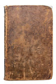 Worn leather book Cover — Stock Photo