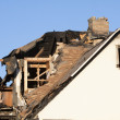 Home damaged by fire — Stock Photo #41363259