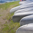 Row of Canoes — Stock Photo #41363365