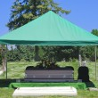 Stock Photo: Cemetery Burial Funeral Casket