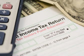 Income Taxes — Stock Photo