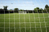 Soccer Goal Netting — Stock Photo