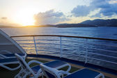View from the cruise ship — Stock Photo