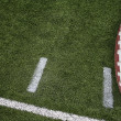 Stock Photo: Football field markings